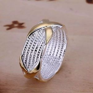 Gold & Silver Band Ring